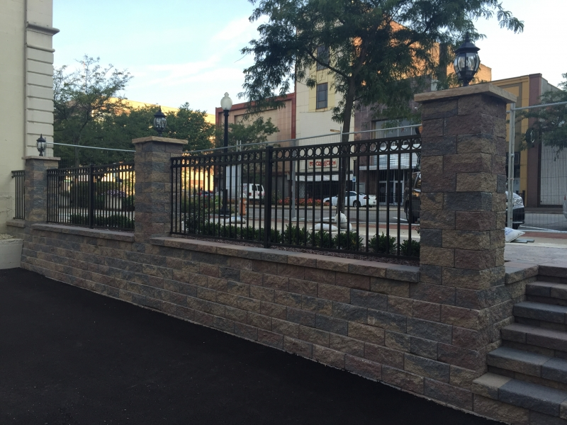 Commercial Ornamental Fence