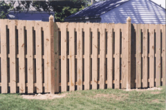 Custom Wood Fence 3