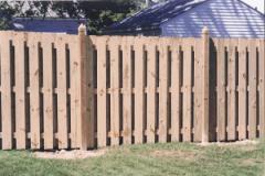 Custom Wood Fence 3